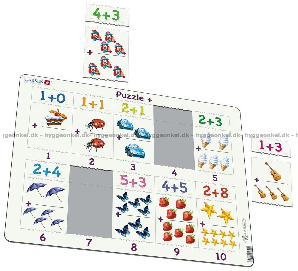 Her kan du kjøpe Math - Frame, 20 brikker!