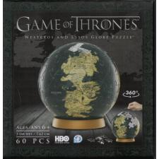 3D-globus: Game of Thrones - Westeros and Essos, 60 brikker