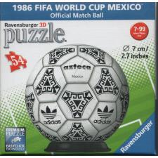 3D-ball: 1986 FIFA World Cup Mexico, 54 brikker