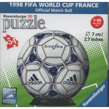 3D-ball: 1998 FIFA World Cup Frankrike, 54 brikker