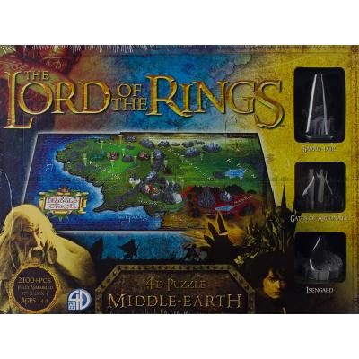 Bilde av 4D: Lord of the Rings - Middle-Earth, 2100 brikker