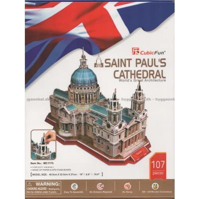 Bilde av 3D: St. Paul's Cathedral of London, 107 brikker