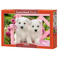 Cuddiford: White Terrier Puppies, 1500 brikker