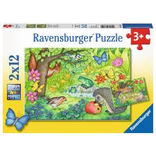 Animals in Pur Garden, 2x12 brikker