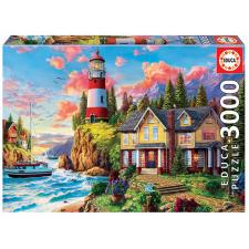 Davison: Lighthouse near the Ocean, 3000 brikker