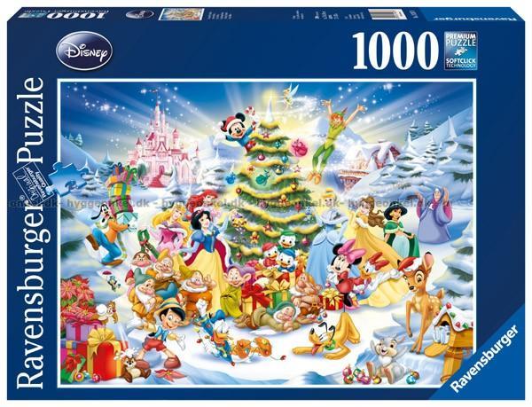 Oppdatert Kjøp Disney: Christmas, 1000 brikker billig. YS-68