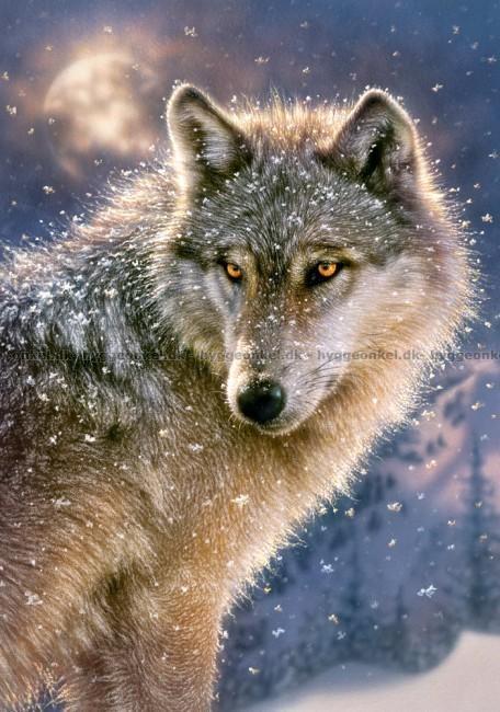 Enorm Lone Wolf, 500 brikker puslespill! Bestill i dag KW-07