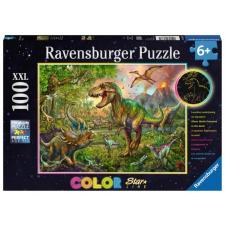 Dinosaur: King - Glow in the dark, 100 brikker