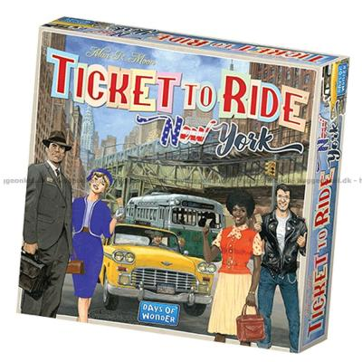 Bilde av Ticket to Ride: New York - Engelsk